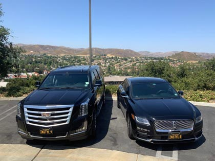 Limousine Service based in Agoura Hills, California featuring professional chauffeurs and reliable service.