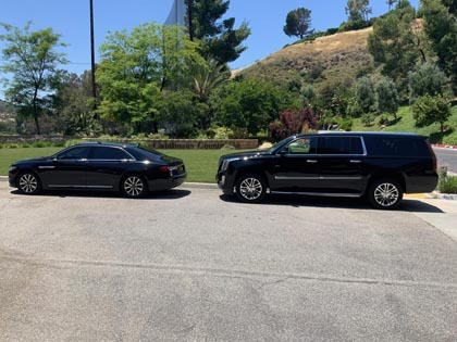 The most reliable SUV and Car Service to LAX based in Calabasas, CA