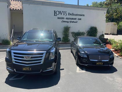 Limousine Service based in Calabasas, California featuring professional chauffeurs and reliable service.