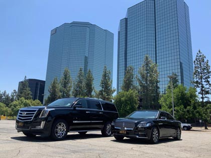 Highest rated corporate and executive car service located in Los Angeles, CA