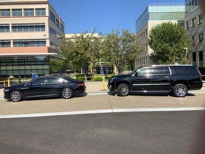 Highest rated corporate and executive car service located in Newbury Park, CA