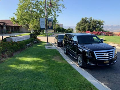 Highest rated corporate and executive car service located in Simi Valley, CA