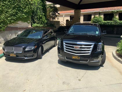 SUV and Car Service in Woodland Hills California featuring professional chauffeurs and reliable service.